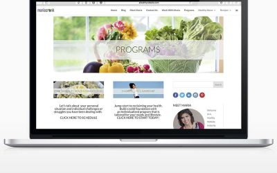This is a Healthy Website – Maria Cronk, Health Coach