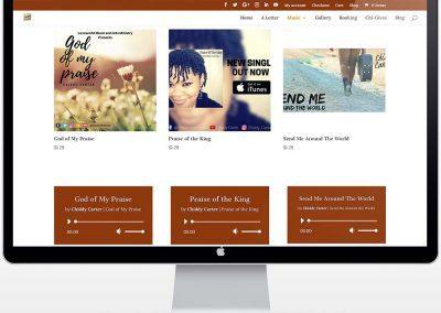 Chiddy Carter - Christian Music Artist - Music Page