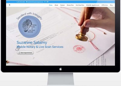 Sealed with Integrity - Mobile Notary - Home page
