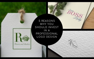 5 Reasons Why You Should Invest in a Professional Logo Design