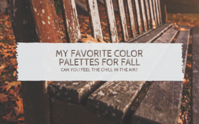 My Favorite Color Palettes for Fall