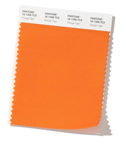 Pantone OrangeTiger Fall & Winter Color Trends
